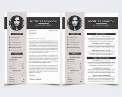 Photoshop Resume Template Stunning Resume Template 28 For Photoshop CV Cover Letter Etsy