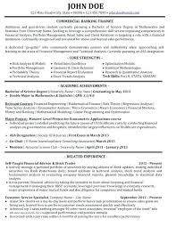Investment Banking Resume Template Resume Investment Banker Resume Simple Investment Banking Resume