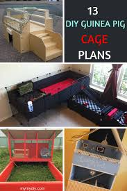 13 cozy diy guinea pig cages list