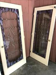 stained glass french door stained glass french doors 3 total stained glass internal french doors
