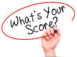 how the act scoring changes work score