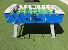 kettler outdoor foosball