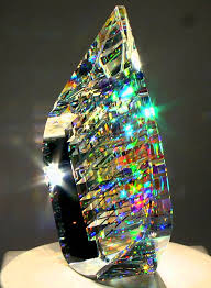 optic glass sculpture by jack storms
