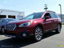 2015 subaru outback 2 5i interior. 2015 outback 25i limited venetian red pearl warm ivory photo 1 subaru 2 5i interior