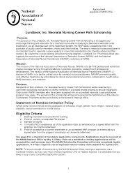 Neonatal Nurse Resume Free Resume Templates 2018