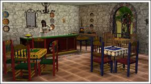 furniture in mexico. Around The Sims 3 | Custom Content Downloads| Objects Mexican Restaurant Furniture In Mexico