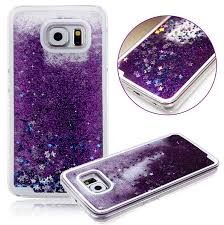 samsung galaxy s6 phone cases for girls. amazon.com: emilys fashion style new glitter quicksand liquid star dynamic clear bling case cover for samsung galaxy s5/note4//s6/s6 edge/note5: cell phones s6 phone cases girls