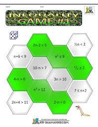 algebra maths inequality game 1