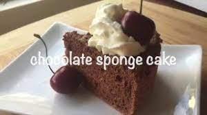 # arsip blog ncc :: How To Make Chocolate Sponge Cake Resep Bolu Coklat Youtube