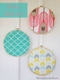 with just a few supplies you can easily make this diy boho fabric wall art  on fabric wall art diy with boho fabric wall art the happy housewife home management