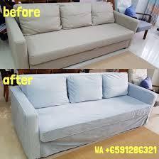 ikea friheten 3 seater sofa bed cover