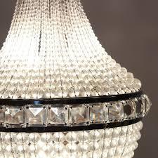 remarkable antique four light crystal basket chandelier c 1905 preservation station nashville tn