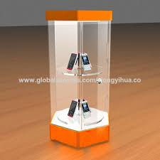 Acrylic Product Display Stands Delectable China Custom Design Acrylic Rotating Display Stand With LED Lighting