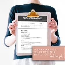 Google Doc Resume Template Modern Google Docs Resume Template Instant Download