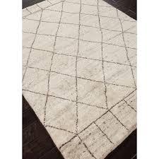 jaipur nostalgia tangier modern moroccan pattern wool knotted rug hayneedle