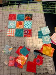 Great Lakes Modern Quilt Guild: January Online Activity & You'll need 22 squares of any bright modern fabric measuring 2 1/2