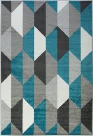 gray honeycomb area rug