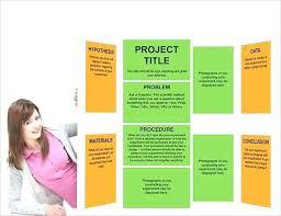Poster Board Designs Tri Fold Poster Board Science Project 5 Easy