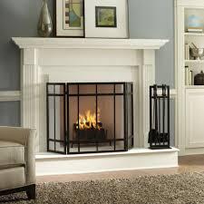 image of modern fireplace mantels designs