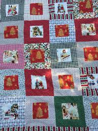 christmas quilt & I love the vintage pictures on this scrappy quilt! Adamdwight.com