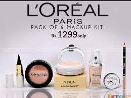 pack of 6 makeup kit harmaal pk stan l 39 oreal