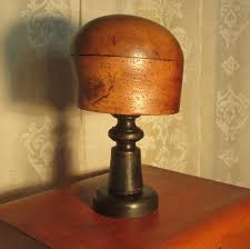 Wooden Hat Stands For Display Antiques Atlas Vintage 100th Century Hat Block Stand Shop Display 81
