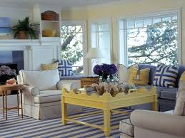 Ray Of Sunshine Myhomeideas Com. Spectacular Blue And Yellow Living Room  For Inspirational Designing With