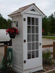 repurposed doors project turn old vine doors into a garden shed from sheds