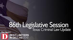 Texas Parole Eligibility Chart 2019 86th Legislative Session Texas Criminal Law Update