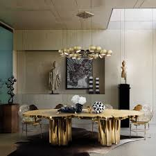 the best gold dining tables to your