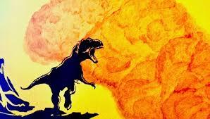 an easy as it gets dinosaur wall mural