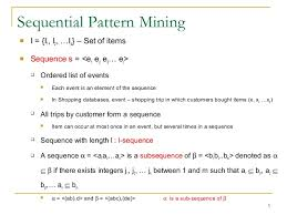 Sequence Pattern Unique 4848 Mining Sequential Patterns