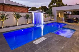 feature lighting ideas. Consider The Side Of Pool Feature Lighting Ideas