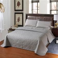 Einfarbig Bettdecke Kissen Set Floral Aushöhlen Schlafzimmer