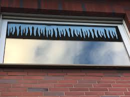 Winter Fensterbilder Eiszapfen Nicht Nur Zu Weihnachten
