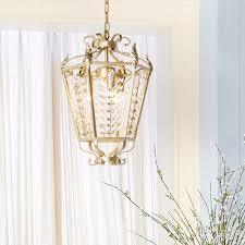 clear crystal lantern pendant lighting