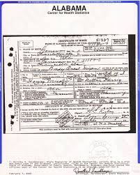 Pictures Of Blank Birth Certificates New StepbyStep Alabama Research 48Present Genealogy FamilySearch