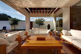 furniture living spaces. Wonderful Landscape Outdoor Indoor Living Spaces : Extraordinary With White Furniture Cushion