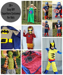 20 easy diy superhero costumes for kids superhero costume superhero round up diy costume