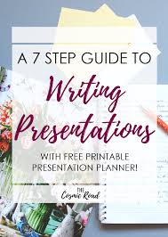 a step guide to writing presentations the cosmic road if writing presentations isn t your thing don t be discouraged follow