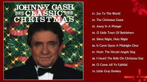 Classic Christmas Johnny Cash | Christmas Songs Greatest Hits ...
