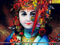 Black Ultra Hd Krishna Hd Wallpaper