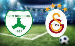 Giresunspor Galatasaray maçında ilk 11'ler belli oldu - Internet Haber