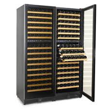 large wine refrigerator. Wonderful Large Nu0027FINITY 340Bottle Wine Cabinet By Wien Enthusiast Throughout Large Refrigerator Cooler Expert
