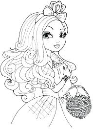 Descendants Coloring Pages Download By 2 And To Print Apples Ever C