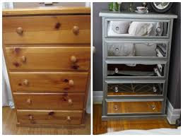 diy mirrored furniture. Diy Mirrored Chest Of Drawers Using Acrylic Mirrors More Furniture R