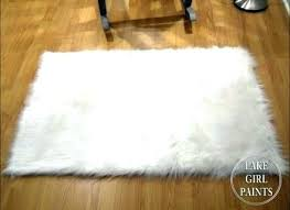 White Faux Rug Round Faux Fur Rug Charming Round Fur Rug Furniture Wonderful White Rug Small White Faux Rug Faux Fur Timberhandmade White Faux Rug Stylish Fake Fur Rugs Throughout Diy Faux Rug Pearls