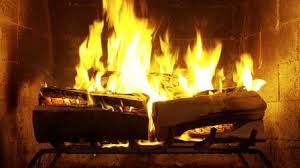 Crackling Fireplace with Music