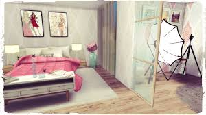 Sims Bedroom Sims 4 Youtuber Bedroom Dinha