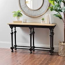 entrance tables furniture. Abigail Distressed Black Console Table, 48 In. Entrance Tables Furniture